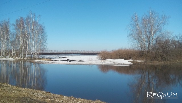 Паводок в Черноземье