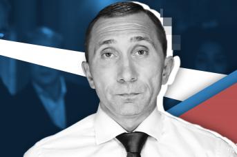 Актёр фильма «Каникулы президента» Дмитрий Грачёв