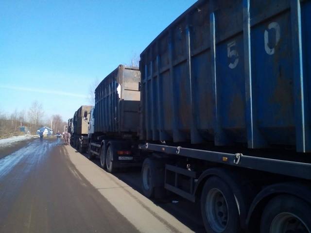 В Ярославле собирают подписи против московского мусора