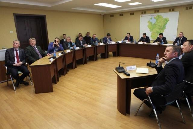 Участники «встречи с общественностью»