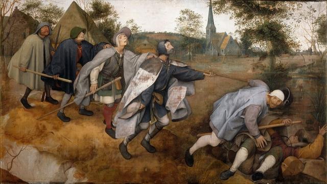 Питер Брейгель Старший. Слепые. 1568