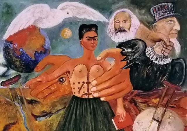 Фрида Кало. Марксизм — лекарство от всех болезней. 1954