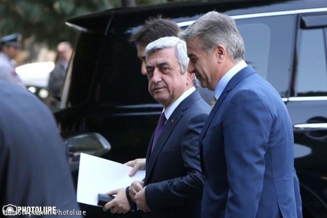 В Армении расставили точки над «i»: Карапетян будет «обслуживать Саргсяна»