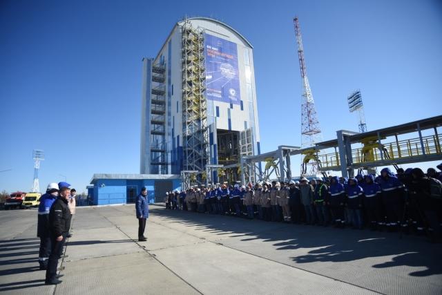 Медведев о космодроме «Восточный»: Здесь не всё проходило гладко