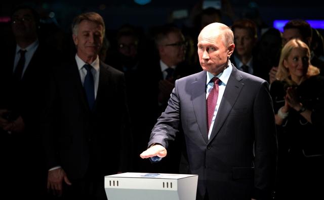 Владимир Путин дает старт загрузке первого танкера-газовоза на заводе «Ямал СПГ»