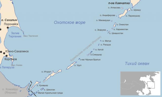 МИД России о «картографической агрессии» Японии
