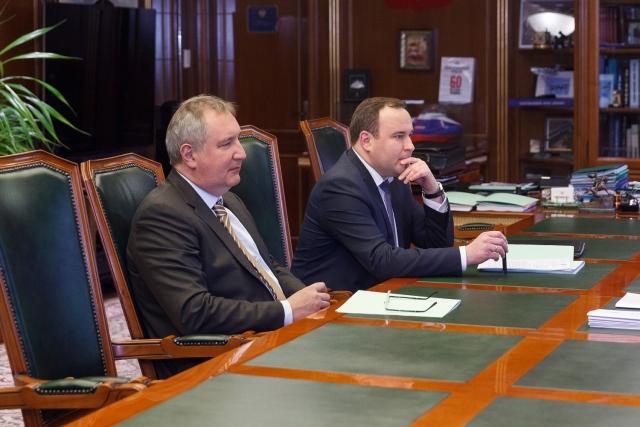 Дмитрий Рогозин во время визита в Тирасполь