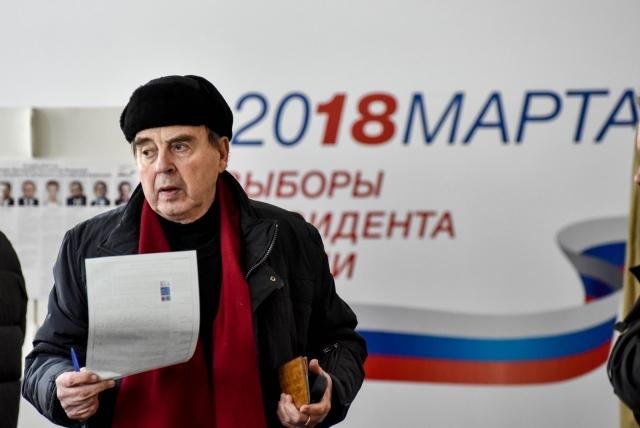 5934f318a02e 5 Выборы президента на избирательном участке N 10 в Москве