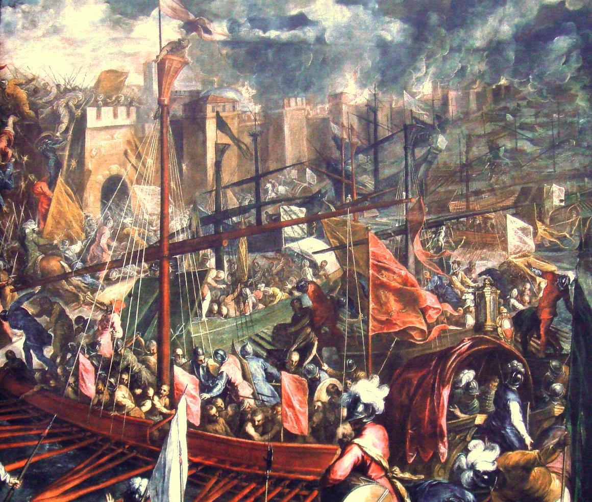 Пальма, Джакомо. Взятие Константинополя. 1204