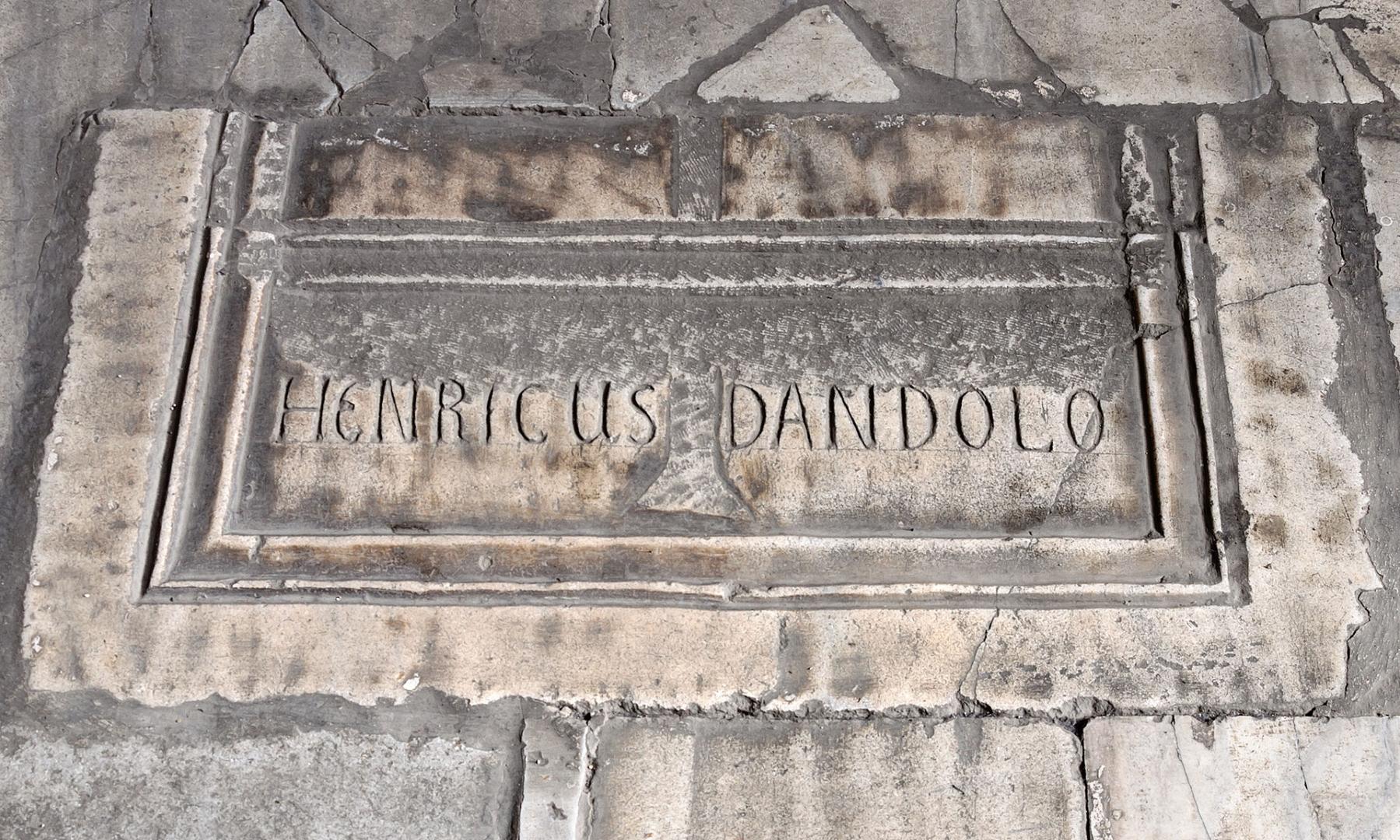 Кенотаф Энрико Дандоло в Святой Софии