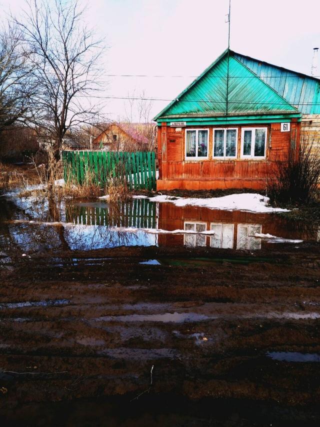 Оренбургская область уходит под воду