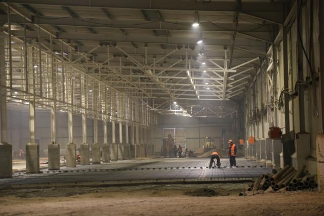 Будущий завод ПВХ-покрытий: работы не ведутся, но к январю инвестор уже успел вложить 750 млн рублей