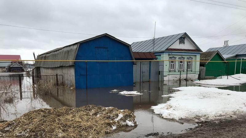 Паводок в Татарии