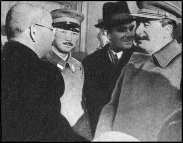 Мацуока и Сталин