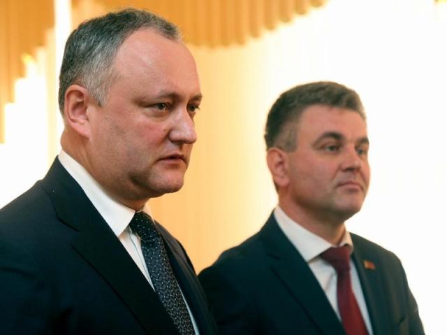 Игорь Додон и Вадим Красносельский