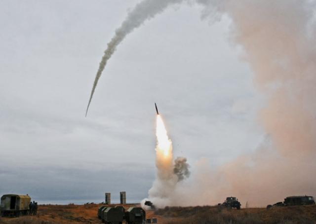 Перехват ракеты средствами ПВО