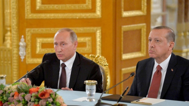 Путин и Эрдоган обсудили удар США и их союзников по Сирии