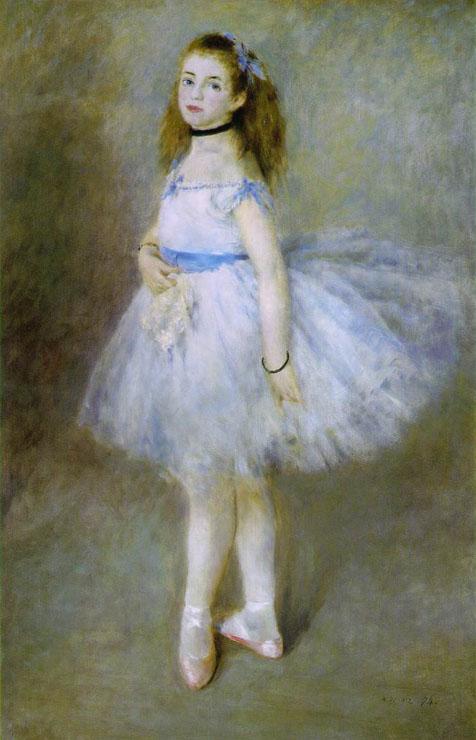 Пьер Огюст Ренуар. Танцовщица. 1874