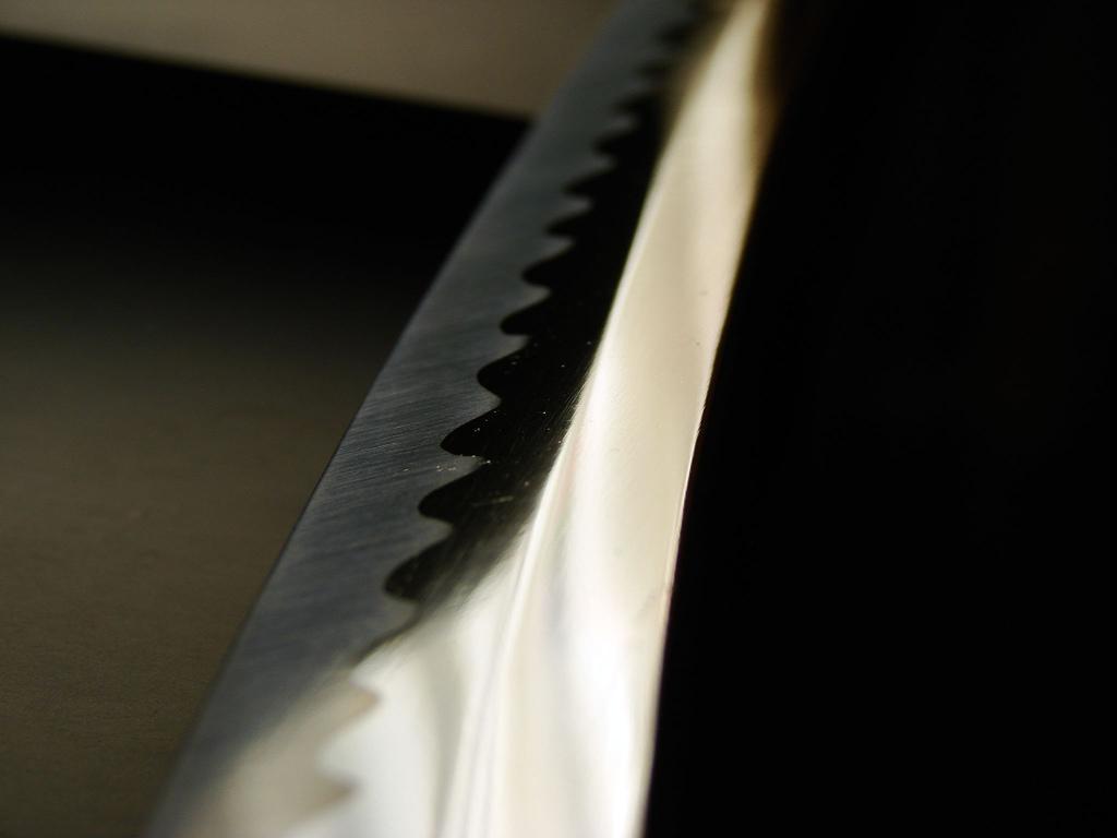 Обнажённый японский меч (катана)