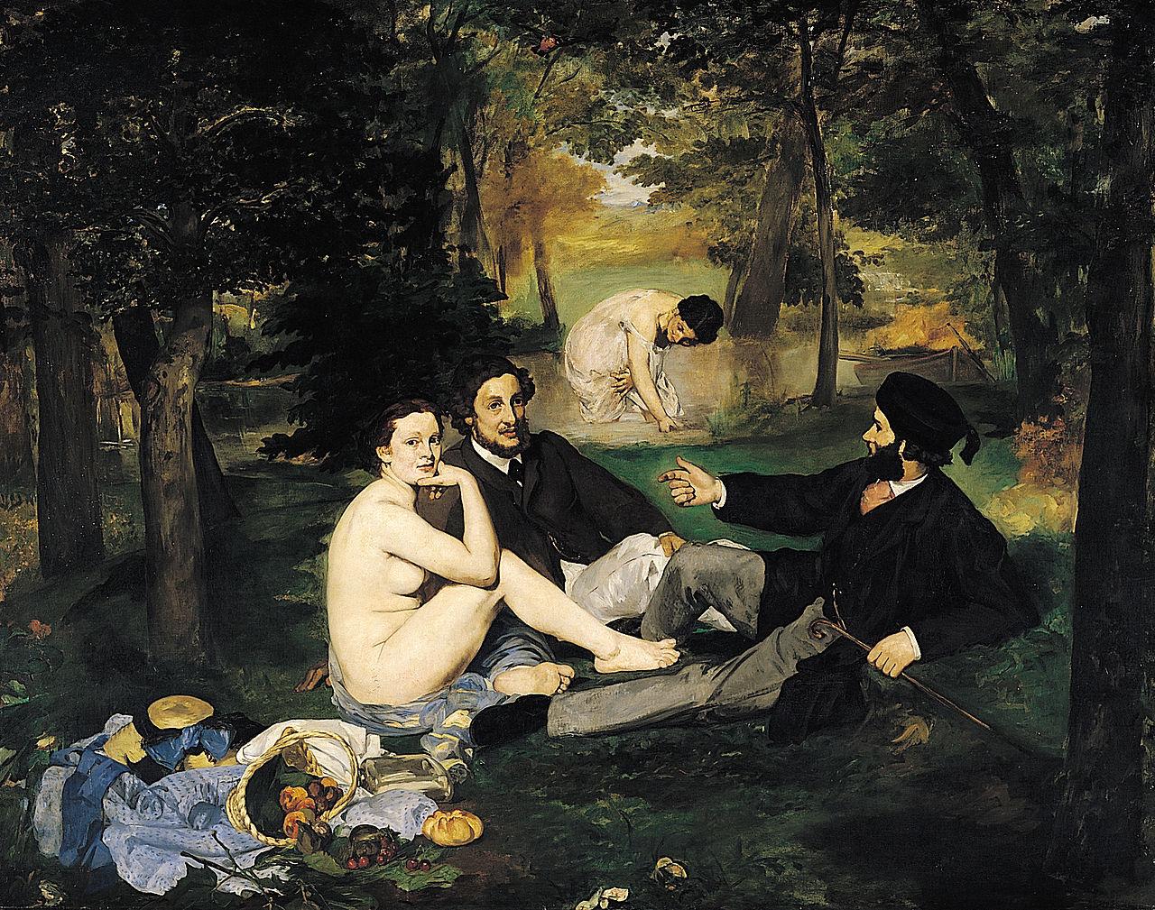 Эдуар Мане. Завтрак на траве.1863
