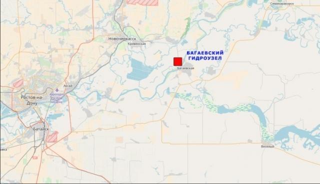 Багаевский гидроузел