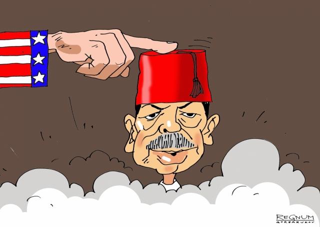 Эрдоган заметался из стороны в сторону