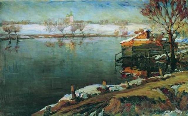 Жуковский С. Ю. Весна. 1923
