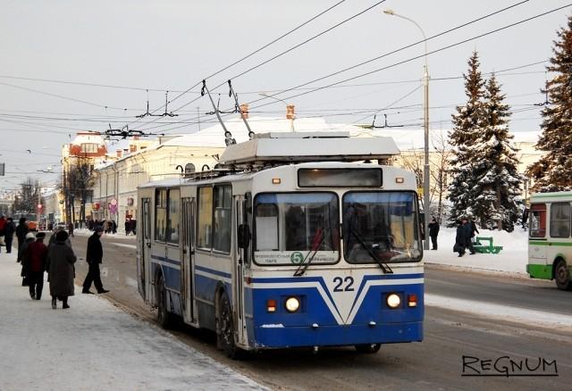 В Рыбинске из-за долгов за электричество встали троллейбусы