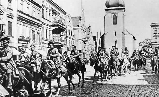 Донские казаки. 1914