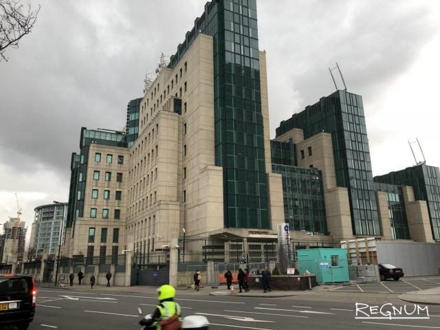 Здание службы внешнеполитической разведки Великобритании
