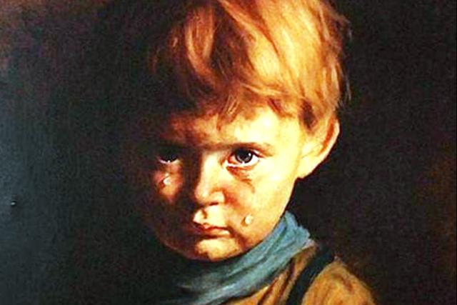 Джованни Браголин (Бруно Амадио). Плачущий мальчик. 1950-е