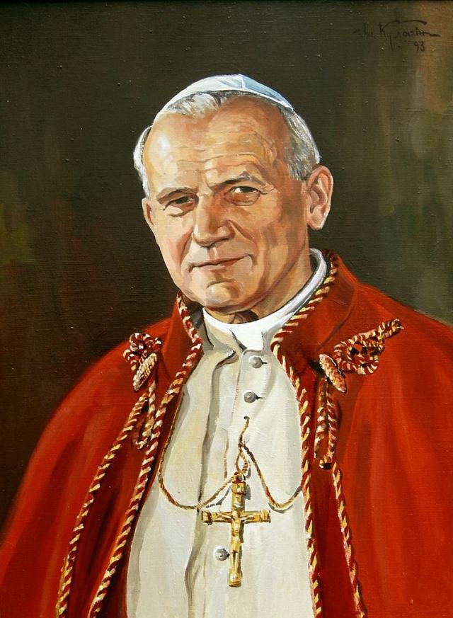Портрет Иоанна Павла II