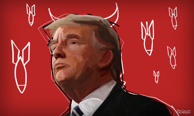American Conservative: Трамп стал заложником партии войны в Вашингтоне