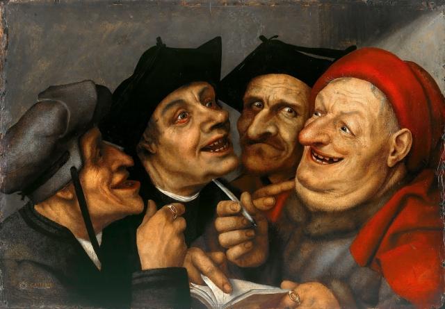 Квентин Массейс. Договор продажи. 1520