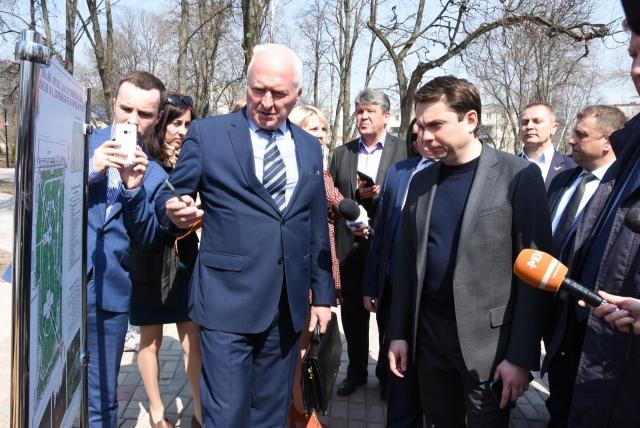 Андрей Чибис в Курске