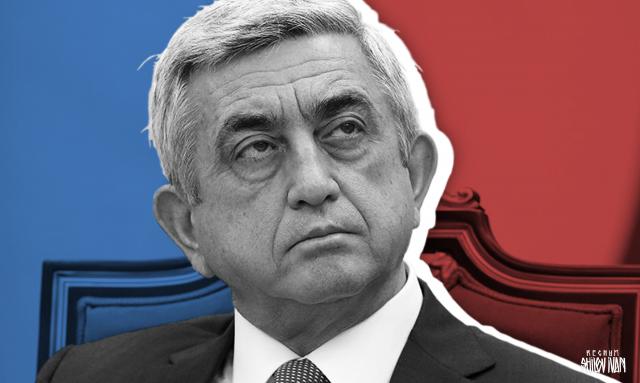 Путин поздравил Саргсяна с назначением на пост премьер-министра Армении