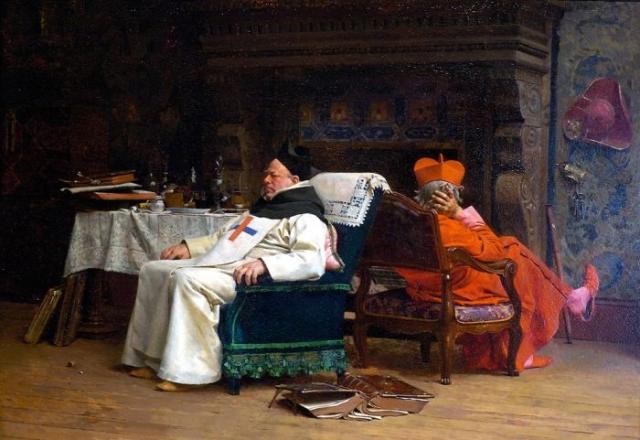 Жан Жорж Вибер. Раскол. 1875