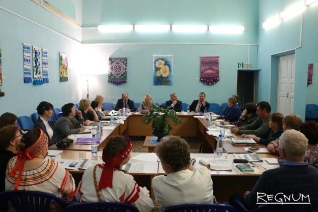 Рабочее совещание представителей Ленинградской области и Республики Карелия