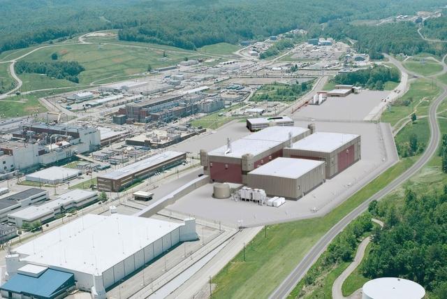 Завод по переработке урана в Ок-Ридж, штат Теннесси, США