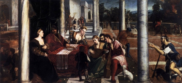 Бонифацио Веронезе (Бонифацио де Питати) .Богач и бедняк