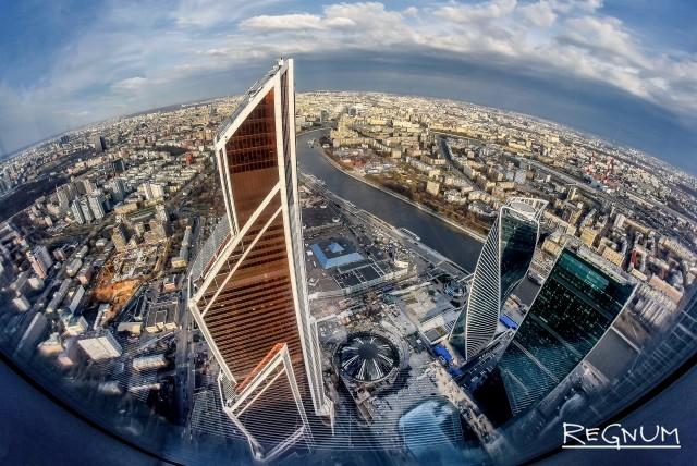 Смотровая площадка Panorama 360 в Москва-Сити