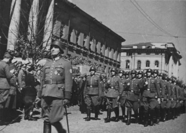 Оккупированный Киев. Сентябрь 1942 года