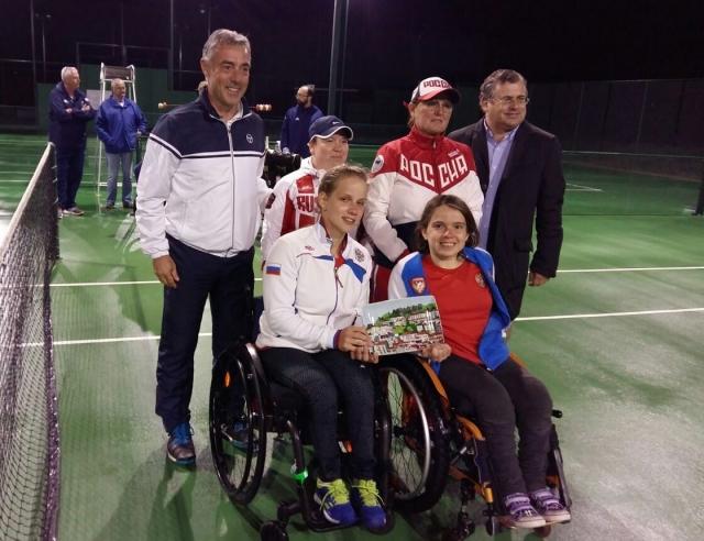 Команда РФ завоевала серебро на Чемпионате Европы по теннису на колясках