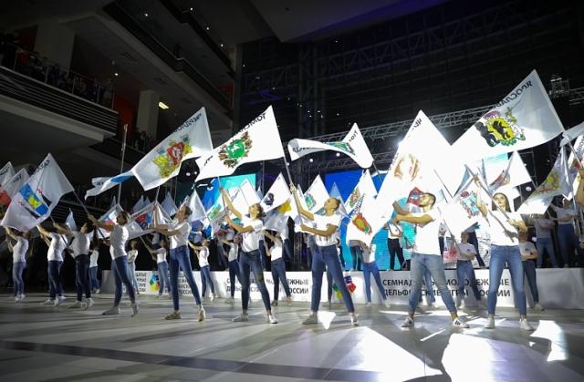 В Приморском крае открылись Семнадцатые молодёжные Дельфийские игры России