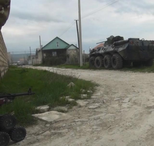 В ликвидации боевиков в Дербенте участвовал робот
