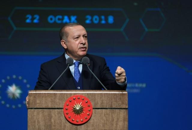 Эрдоган: США — главная угроза для Турции в Сирии