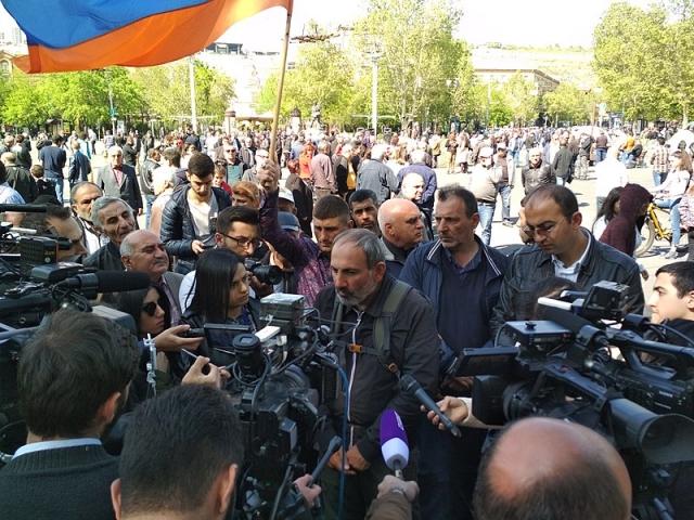 Армения: власть и оппозиция переступили красную черту