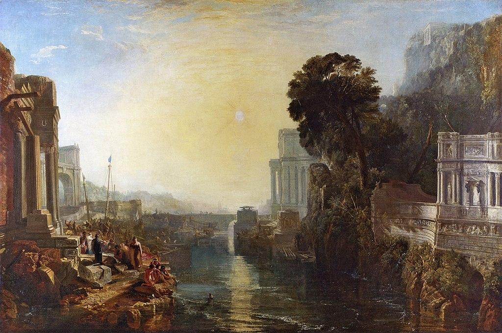 Дидона, основательница Карфагена. 1815