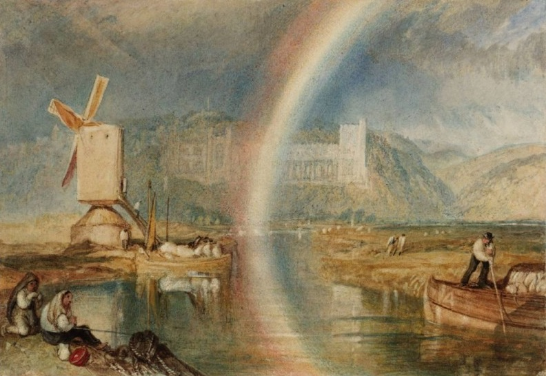 Радуга над замком Арундель. 1824