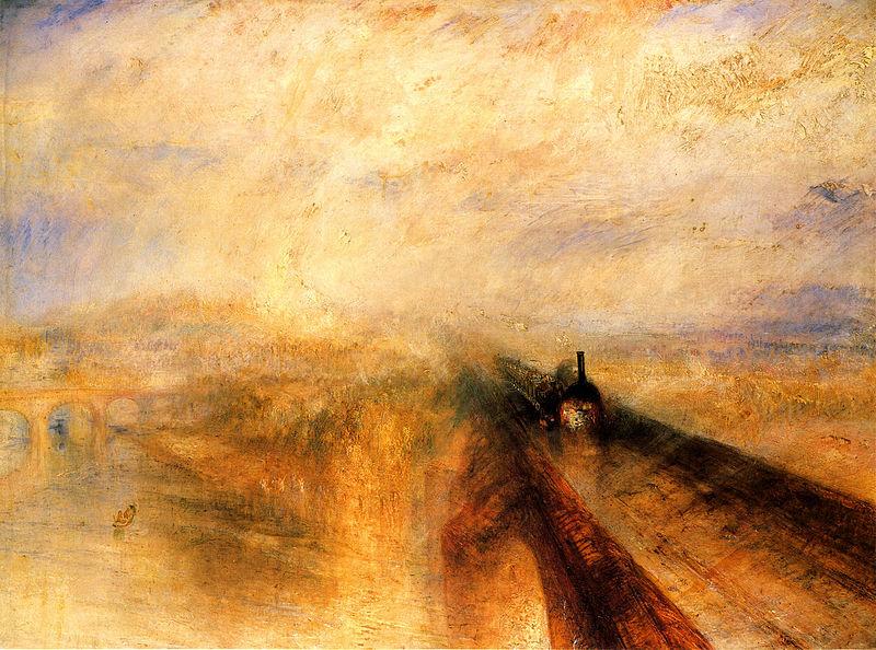 Дождь, пар и скорость. 1844